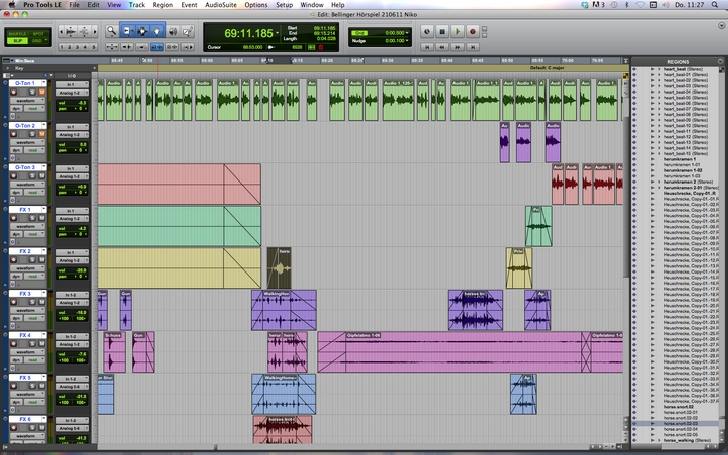 Ton Pro Tools Session 01